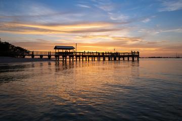 FishingPier at Sunset