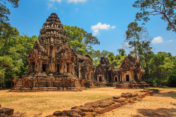 Ancient temples of Angkor.