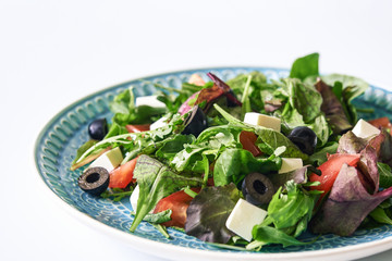 mixed salad with tomato