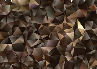 Abstract vector  polygonal  background. Low poly triangular pattern. The best graphic resourse for your design works.