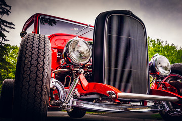 Hot Rod of New Hope. Wall mural