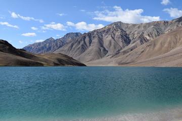 Beautiful Moon Lake in Spiti Valley, India