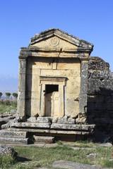 Hirápolis en Pamukkale, Turquía