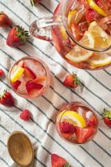 Homemade Berry Rose Sangria