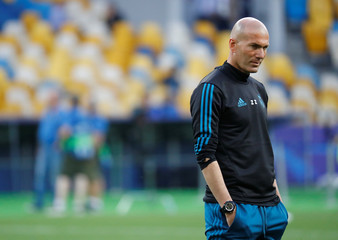 Champions League Final - Real Madrid Training