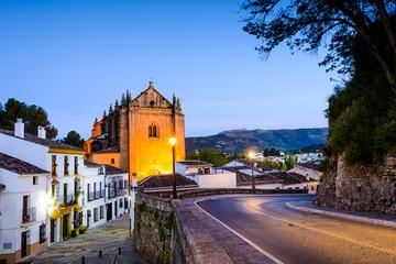 Iglesia del Espiritu Santo, Ronda, Andalusia, Spain