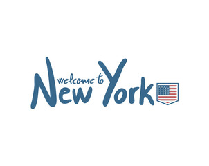 welcome to New York symbol