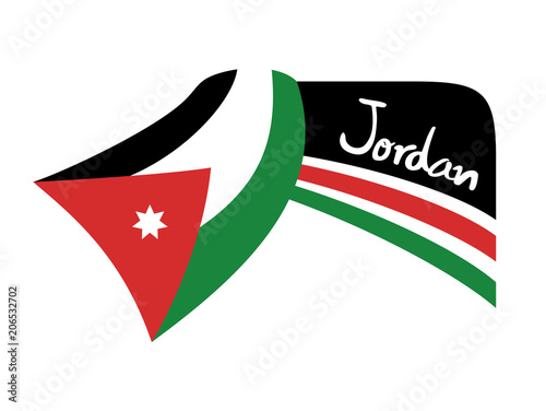 Jordan Flag Symbol Stock Image And Royalty Free Vector Files On