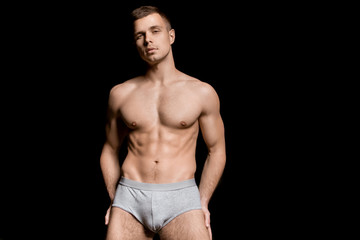 Guy in undies