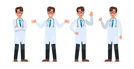 Set of Doctor character design. no10