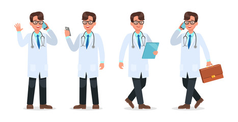 Set of Doctor character design. no16