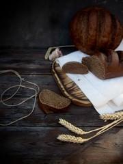 Obraz food, brown, wood, nut, wooden, bread, healthy, cinnamon, walnut, fresh, decoration, ingredient, beauty, natural, closeup, old, bath, still life, rustic, vintage, white, table, basket, traditional, ro - fototapety do salonu