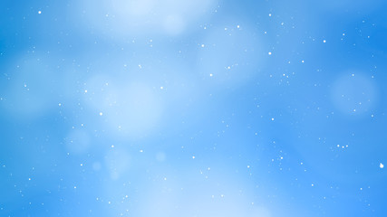 Glittering Blue Abstract Background