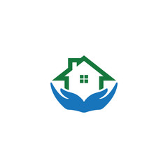 Home care logo icon template