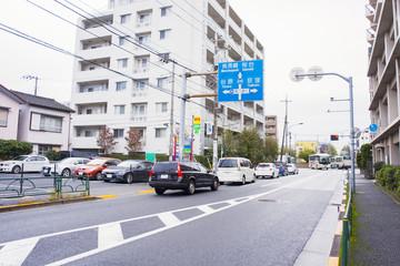 新青梅街道(井荻周辺)