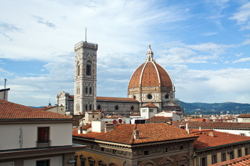 Firenze, the cathedral and campanile - Tuscany, Italy