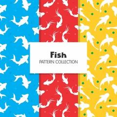 Koi Fish Pattern Collection