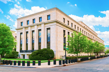 Eccles Federal Reserve Board Building in Washington DC