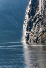 Norway - Geirangerfjord - The Bridal Veil Waterfall