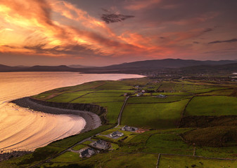 Sinset in Co.Kerry,Ireland.