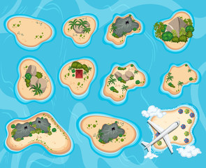 A Bird Eye View of Island