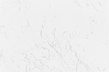 Scratched texture on a white background