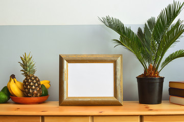 Sunny tropical summer interior concept