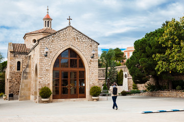 Chapel of Saint Joseph at the Sanctuary of Saint Joseph of the Mountain esplanade