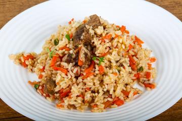 Asian rice - Plov
