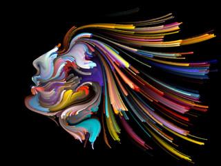 Unfolding of Inner Palette