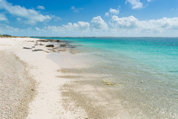 Beautiful beach in Los Roques archipelago, one of the most