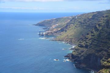 costa de la isla de Tenerife