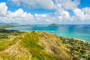 Pillbox Hiking Trail on the Island of Oahu