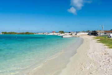 Madrisqui island at Los Roques archipelago