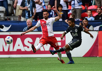 MLS: New England Revolution at Vancouver Whitecaps
