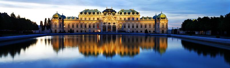 Fotobehang Wenen Belvedere Palace, Vienna, Austria