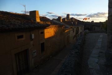 Maderuelo, pueblo y villa monumental en el norte de la provincia de Segovia, en la comunidad autónoma de Castilla y León (España)