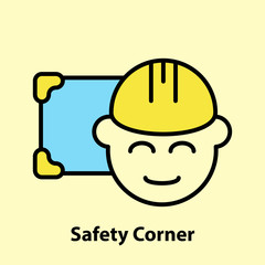 Line icon of Safety Corner