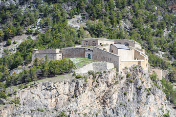 Foto auf Leinwand Befestigung Briançon - France / Fort des Salettes