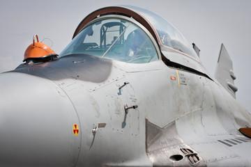 Kabina samolotu myśliwskiego