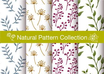 natural seamless pattern