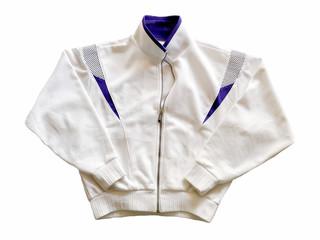 White Jacket, Sports Jacket, Sweater, Sport wear.