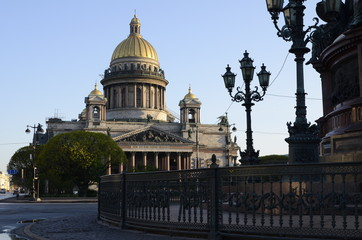 Isaac's Cathedral in early morning - St Petersburg, Russia
