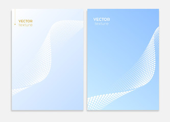 Business covers design, brochure template. Vector graphic.
