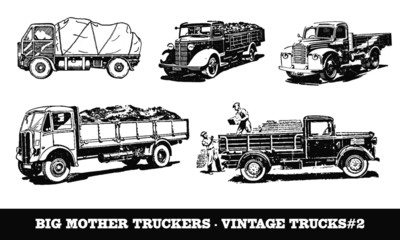 Vintage / Retro Truck Collection