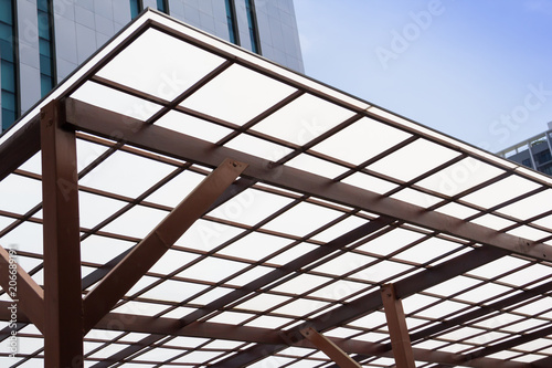 Polycarbonate Roofing use for house decoration, car park lot