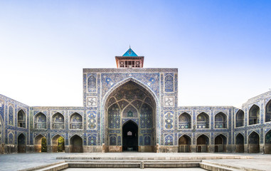 Traditional Jameh mosque of isfahan - Iran