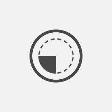 Average vector icon