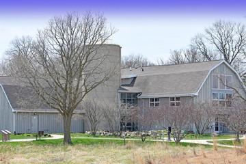 Farm Building in Silo