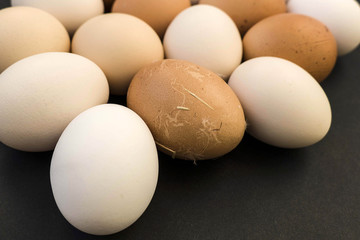 natural village chicken egg.
